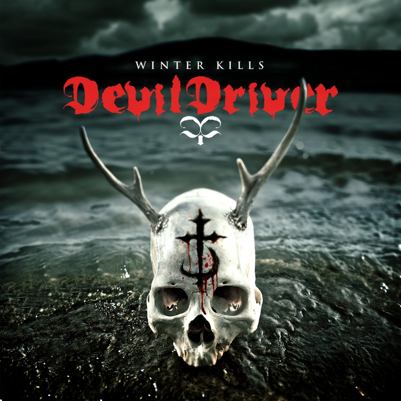 Album art for DevilDriver's sixth album (and first on Napalm Records) WINTER KILLS