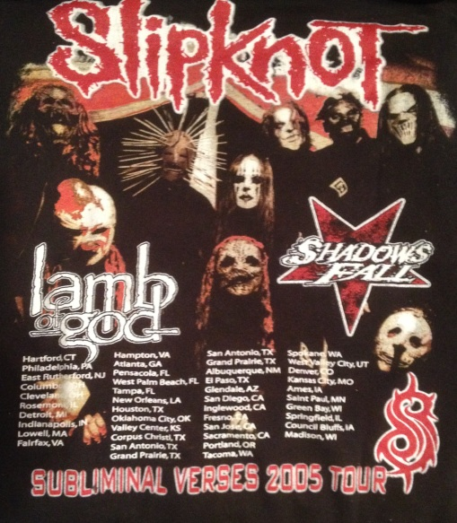 Throwback Thursday Concert Review: The Subliminal Verses Tour 2005 ft. Slipknot, Lamb of God and Shadows Fall