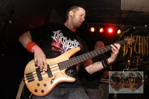 Sean Sydnor (bass) of Byzantine, live at Fubar in St. Louis, MO; Friday, March 20, 2015
