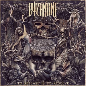 Byzantine - TO RELEASE IS TO RESOLVE cover art by Christopher Lovell [image courtesy of Snakepit (CEN/RED Distribution)].