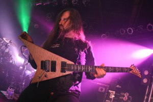 Oli Herbert (guitar, All That Remains) live at Pop's - May 1, 2015 [photo by Nick Licata]