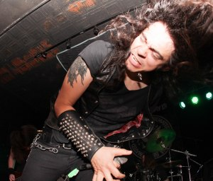 James Paul Luna (vocals) of Holy Grail live at Fubar in St. Louis, MO.