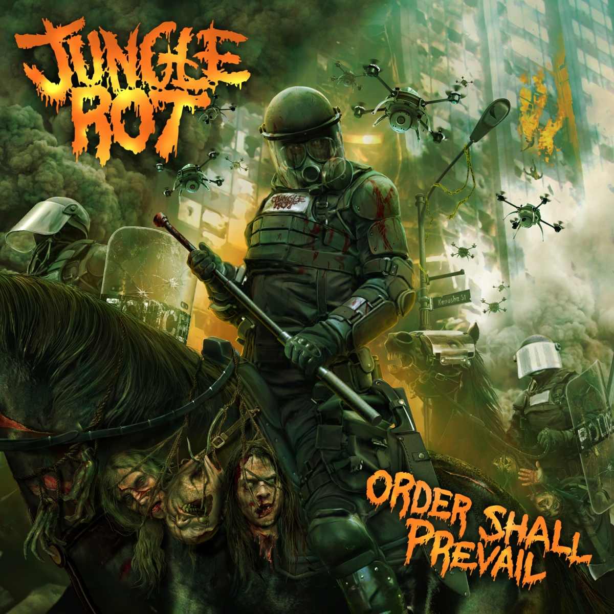 Album Review: Jungle Rot - ORDER SHALL PREVAIL