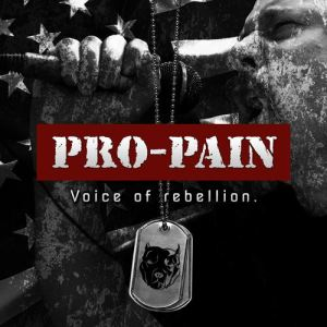 Album art for VOICE OF REBELLION (2015) by Pro-Pain [image courtesy of SPV Steamhammer]