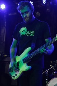 Chase Rudeseal (bass) of Kylesa at The Ready Room in St. Louis, MO on Saturday, September 5, 2015 [photo by Nick Licata]