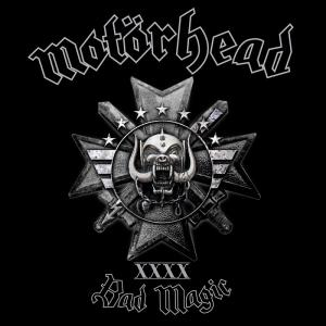 Motörhead - BAD MAGIC album cover art [image courtesy of UDR Music]
