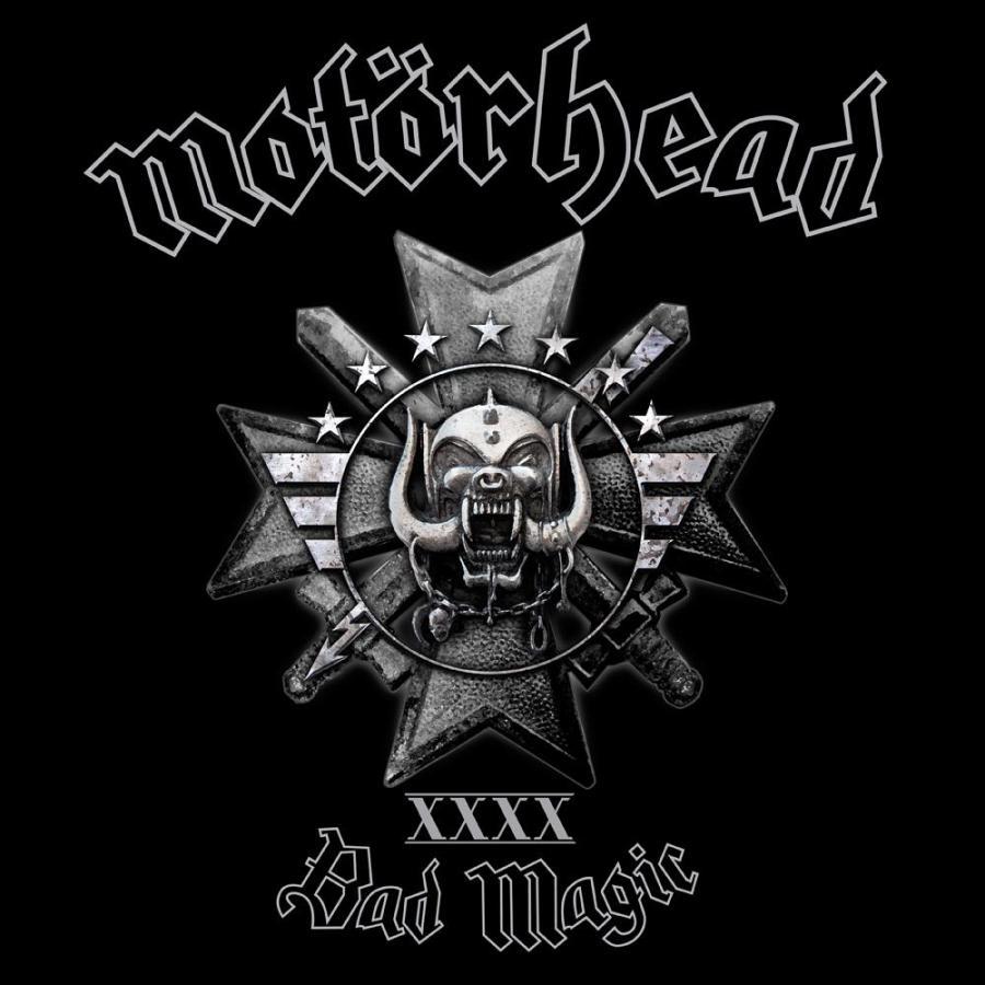 Motörhead - BAD MAGIC album cover art [image courtesy of UDR Music]