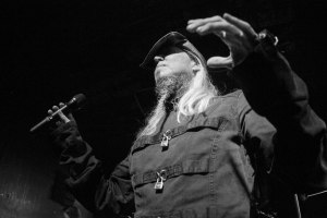 Warrel Dane (vocals, Sanctuary, ex-Nevermore) live at Fubar on Sunday, October 11, 2015 [photo by Nick Licata]