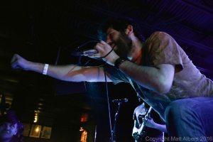 Tim Lyakhovetskiy (vocals/keyboards, Nekrogoblikon) - photo copyright Matt Albers (2016)