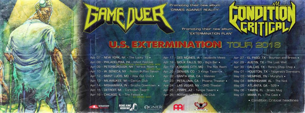 US extermination Tour