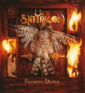 Satyricon - NEMESIS DIVINA [1996] album cover art - image courtesy of Napalm Records