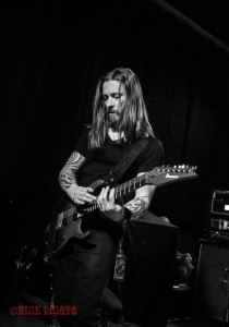Devil You Know guitarist Francesco Artusato performing live at Fubar in St. Louis, MO on Wednesday, April 27 - image credit: Nick Licata