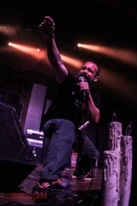 Clutch front man Neil Fallon - live at The Pageant in St. Louis, MO on Thursday, May 12 [photo credit: Nick Licata]