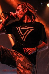 Lamb of God front man Randy Blythe - live at The Pageant in St. Louis, MO on Thursday, May 12 [photo credit: Nick Licata]