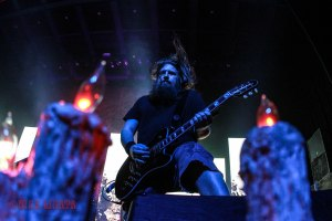 Lamb of God guitarist Mark Morton - live at The Pageant in St. Louis, MO on Thursday, May 12 [photo credit: Nick Licata]