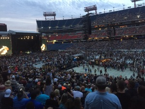 Inside Nissan Stadium in Nashville, TN for Guns N' Roses on Saturday, July 9 - photo credit: Erik Harshman (2016)