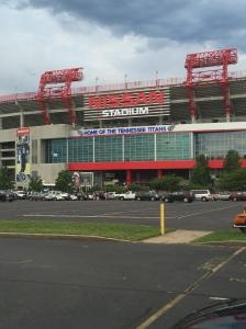 Outside Nissan Stadium in Nashville, TN for Guns N' Roses on Saturday, July 9 - photo credit: Erik Harshman (2016)