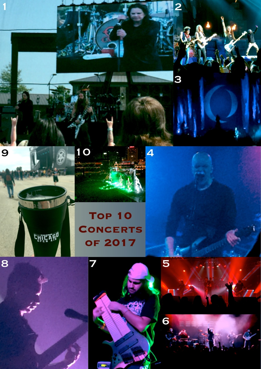 Top 10 Concerts of 2017